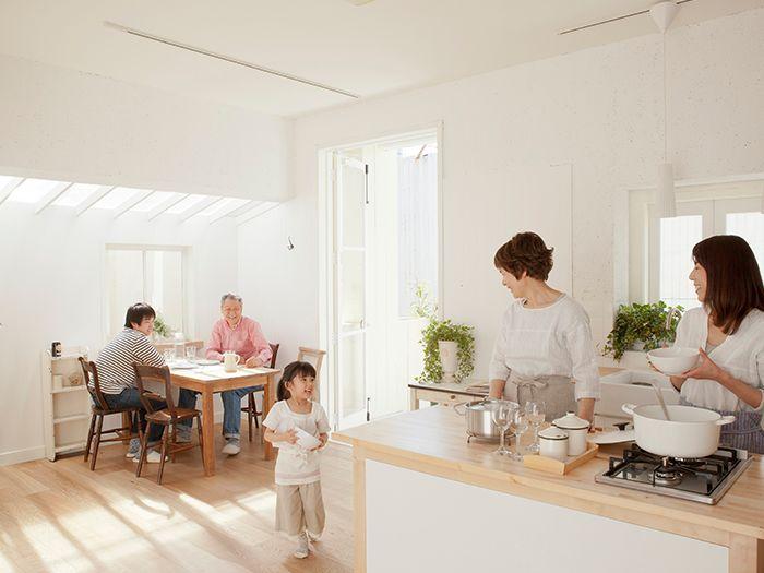 家族のキッチン